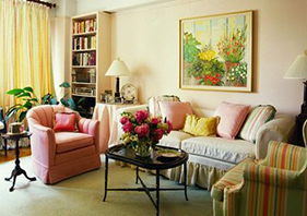 室内色彩搭配妙招 让家在春天焕发新鲜感!